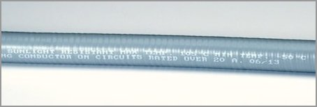 International Sealskin™ Hi-Low Temperature  Liquid-Tight Flexible Metallic Conduit  (Galvanized Steel Core, Type HLT)